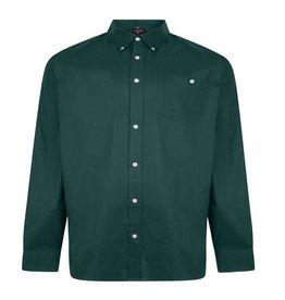 Kingsize Brand SH336 Grote maten Smaragdgroen Oxford Overhemd