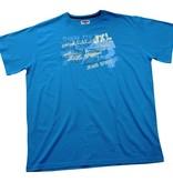 JEANSXL 711 Grote maten Blauw T-shirt