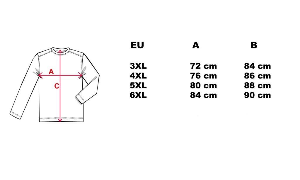 CAMUS 381101 Grote maten Zwarte Polo Sweater