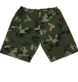 VANDAM 11522 Grote maten Camouflage Bermuda