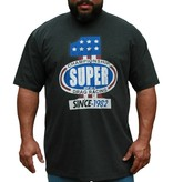 JEANSXL 735 Grote maten Antracietgrijs T-shirt