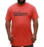 JEANSXL 768 Grote maten Rood T-shirt