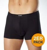 CECEBA 2700 Grote maten Zwarte Boxer Shorts (2-pack)