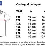 Kingsize Brand 15641 Grote maten Blauw Overhemd (lange mouw)