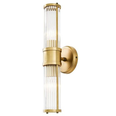 Eichholtz Wall Lamp Claridges Double Brass