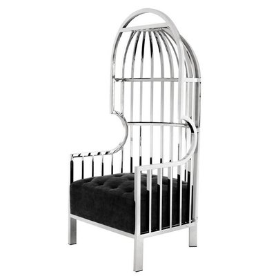 Eichholtz Stoel Chair Bora Bora zilverkleur