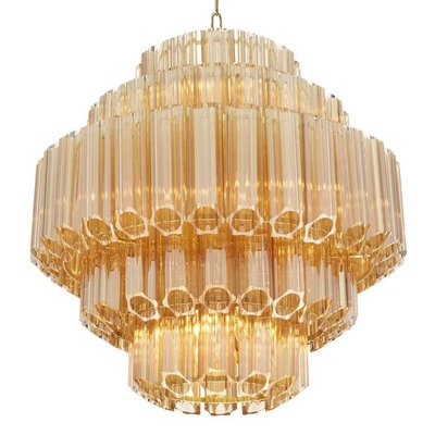 Eichholtz Chandelier Vittoria  Gold glass S