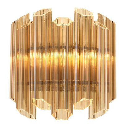 Eichholtz Wandlamp Wall lamp Vittoria Gold glass