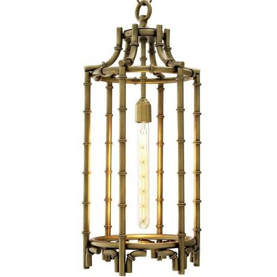 Eichholtz Hanglamp Lantern Vasco antiek brons
