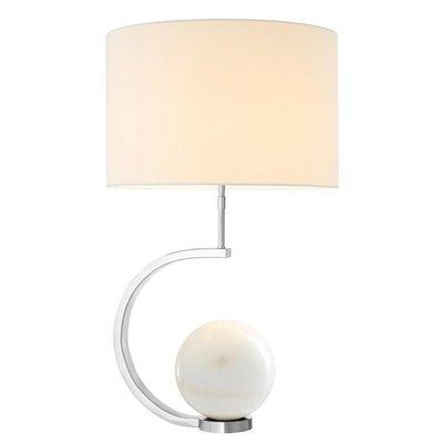 Eichholtz Tafellamp Table Lamp Luigi marble wit