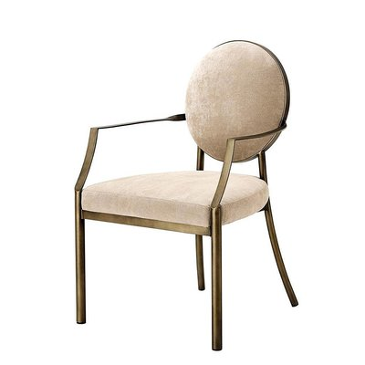 Eichholtz Stoel Dining Chair Scribe Armleuning