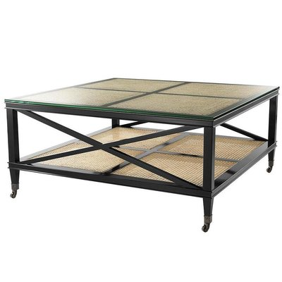 Eichholtz Salontafel Coffee Table Bahamas zwart