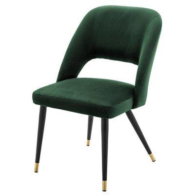 Eichholtz Stoel Dining Chair Cipria groen velvet