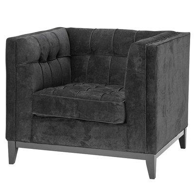 Eichholtz Chair Aldgate black Fauteuil