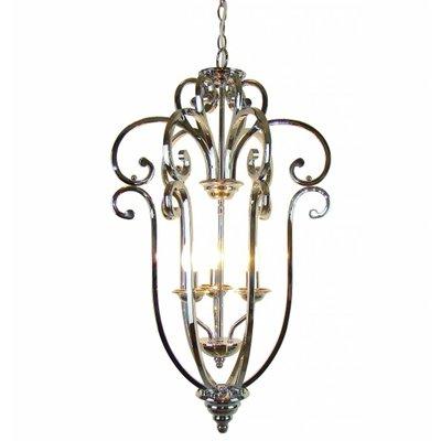 Hanglamp modern /landelijk nikkel H75cm