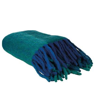Lifestyle Plaid Macbeth Blue 125X150 - Blauw