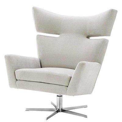Eichholtz Draai-fauteuil Swivel Chair Eduardo Sand