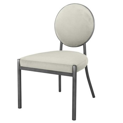 Eichholtz Stoel Dining  Chair Scribe grey