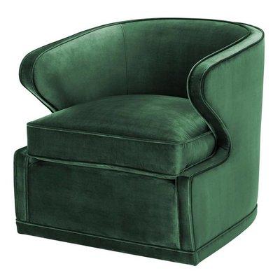 Eichholtz Fauteuil Chair Dorset Green velvet
