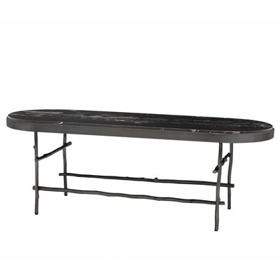 Eichholtz Salontafel Coffee Table Tomasso brons zwart-marmer