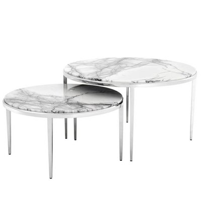 Eichholtz Salontafel Coffee Table Fredo set of 2