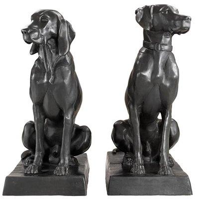 Eichholtz Beeld Hond Pointer & Jackthond Set