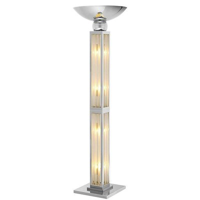 Eichholtz Vloerlamp - Floor Lamp Dorrell Nickel finish