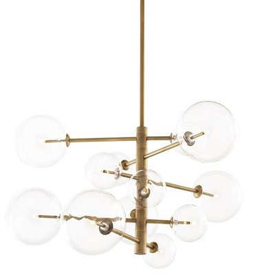 Eichholtz Hanglamp Chandelier Argento S antiek brons