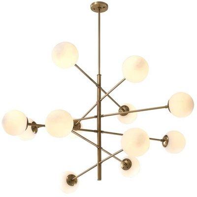 Eichholtz Hanglamp Chandelier Tortora brons mat-wit