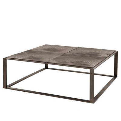 Eichholtz Coffee Table Zino Brons 100x100cm