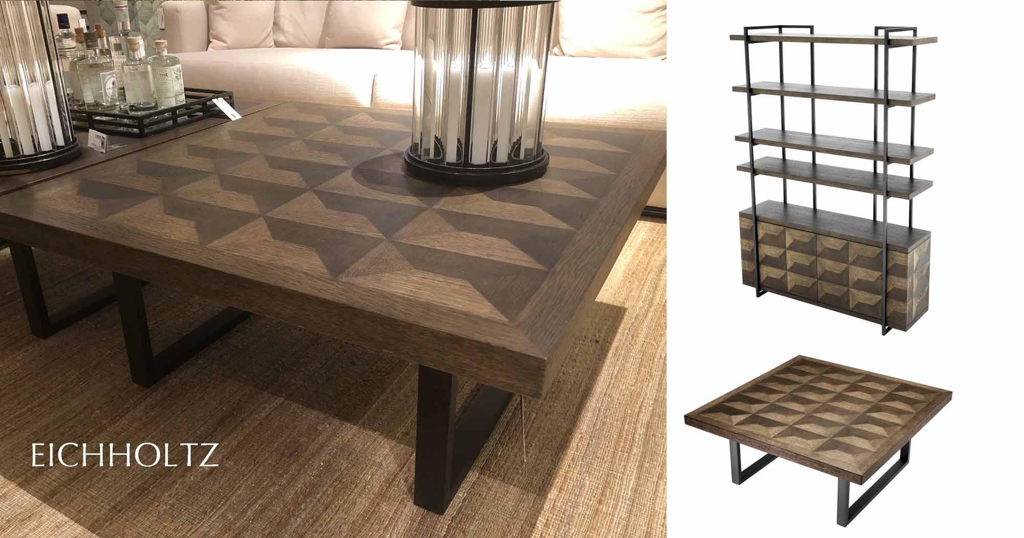Gregorio coffee table brons salontafel 100x100cm