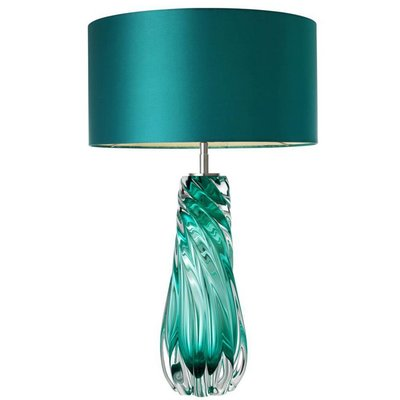 Eichholtz Tafellamp Lamp Barron turquoise schemerlamp