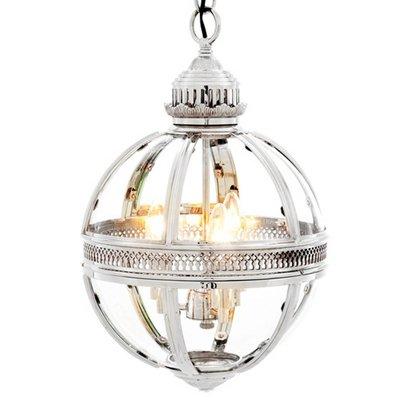 Eichholtz Hanglamp Lantern Residential S nikkel