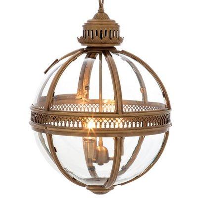 Eichholtz Hanglamp Lantern Residential M Antique brass