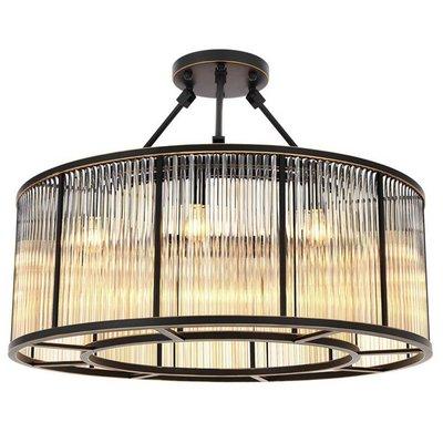 Eichholtz Ceiling Lamp Bernardi Plafondlamp zwart Brons