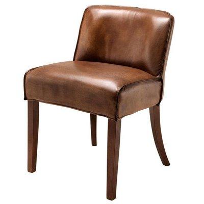 Eichholtz Eeetkamerstoel - Dining Chair Barnes bruin-cognac