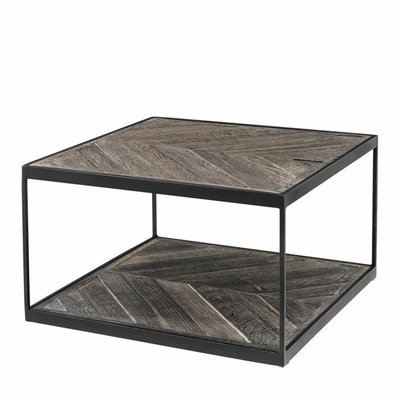 Eichholtz Side Table La Varenne visgraat eiken 65x65cm