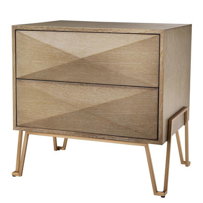 Eichholtz Nachtkastje Bed Side Table Highland 62,5x49xH.60 cm