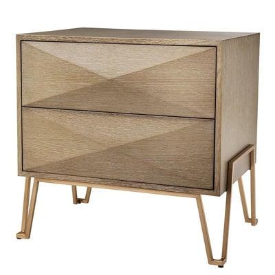Eichholtz Nachtkastje Bed Side Table Highland 62,5x49xH.60 cm