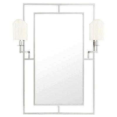 Eichholtz Spiegel Mirror Astaire nikkel finish