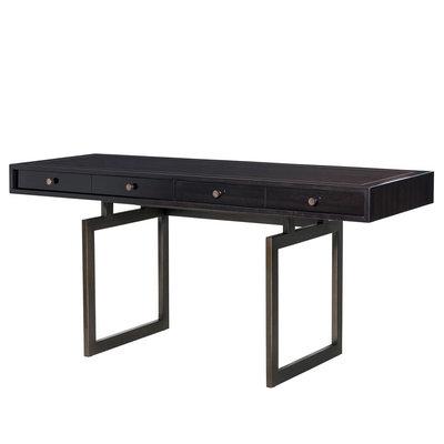 Eichholtz Desk Evolution Bureau donkerbruin 190x60cm