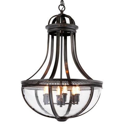 Eichholtz Hanglamp Lantern Capitol Hill L  gun metal