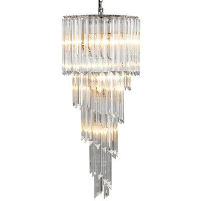Eichholtz Hanglamp Chandelier Marino Glas 40 H.104CM