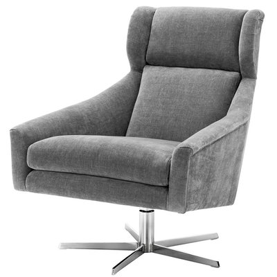 Eichholtz Draaistoel Swivel Chair Nara Grey