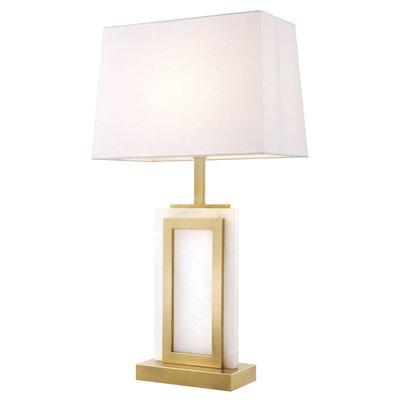 Eichholtz Tafellamp Murray met witte kap