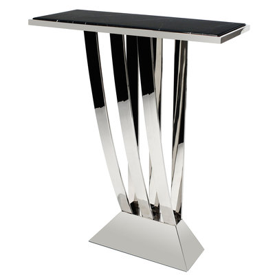 Eichholtz Console Table  Beau Deco gepolijst staal