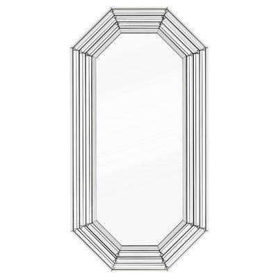 Eichholtz Spiegel Parade 188 x 98 x D. 7cm zilverkleur