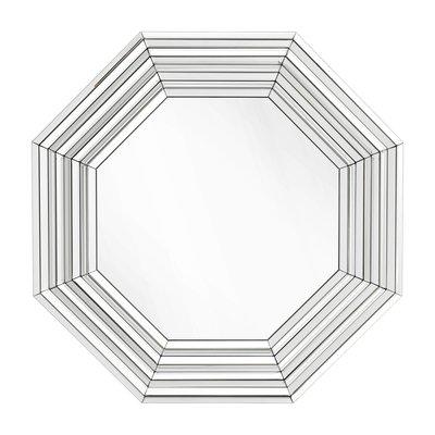 Eichholtz Spiegel Parade 106,5 x 106,5 x D. 3,5 cm zilverkleur