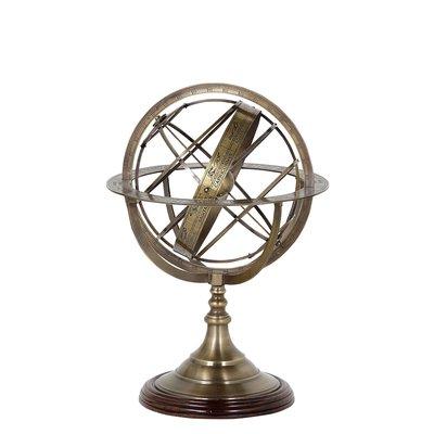 Eichholtz Decoratie Globe S Antiek koper H.29CM