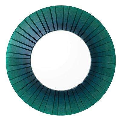 Eichholtz Ronde Spiegel Lecanto groen afgeschuind